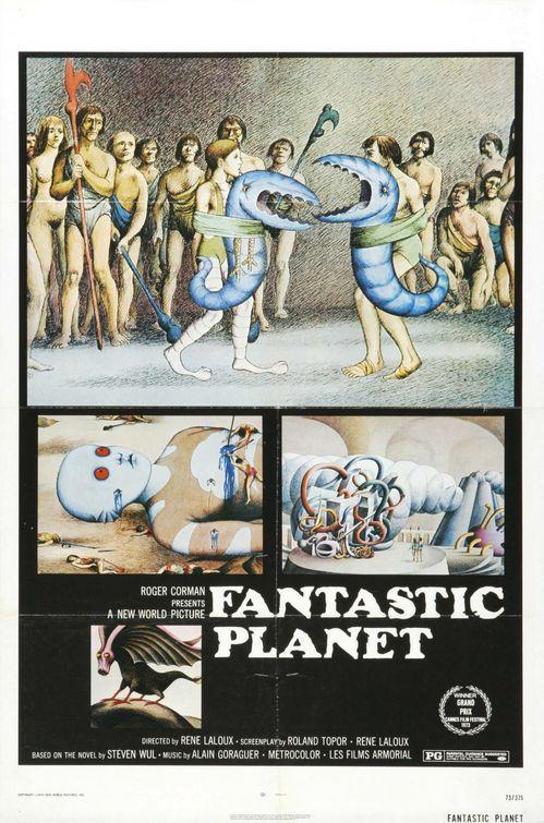 fantastic planet movie poster