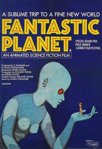 fantastic planet blue poster