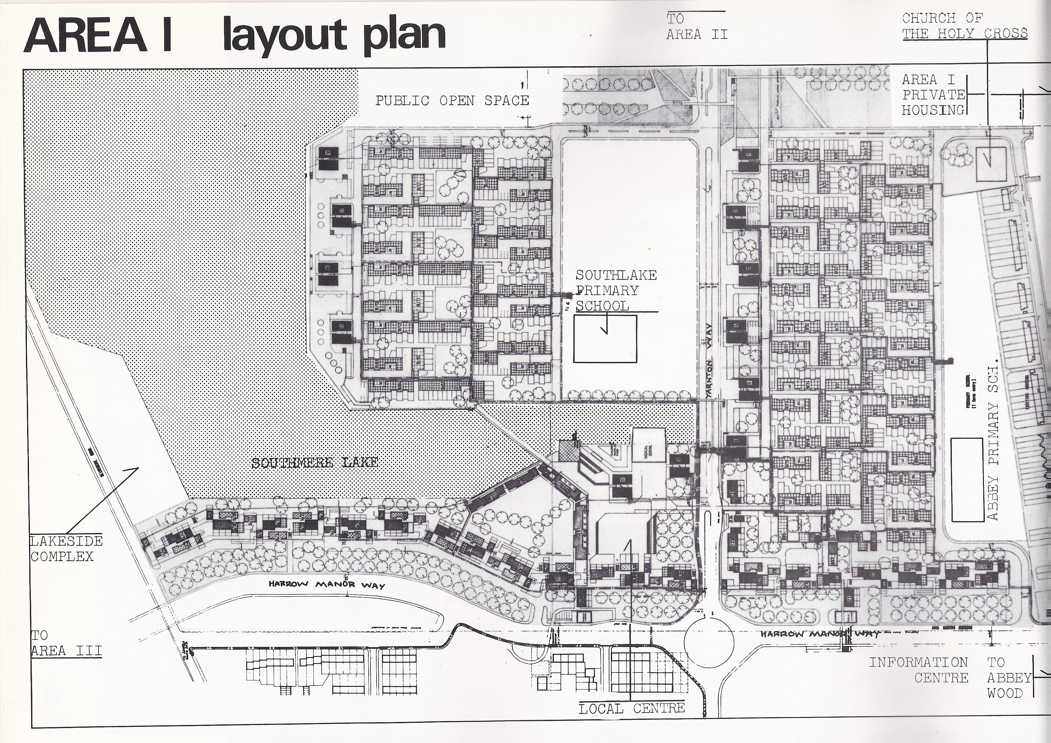 area one layout plan thamesmead london