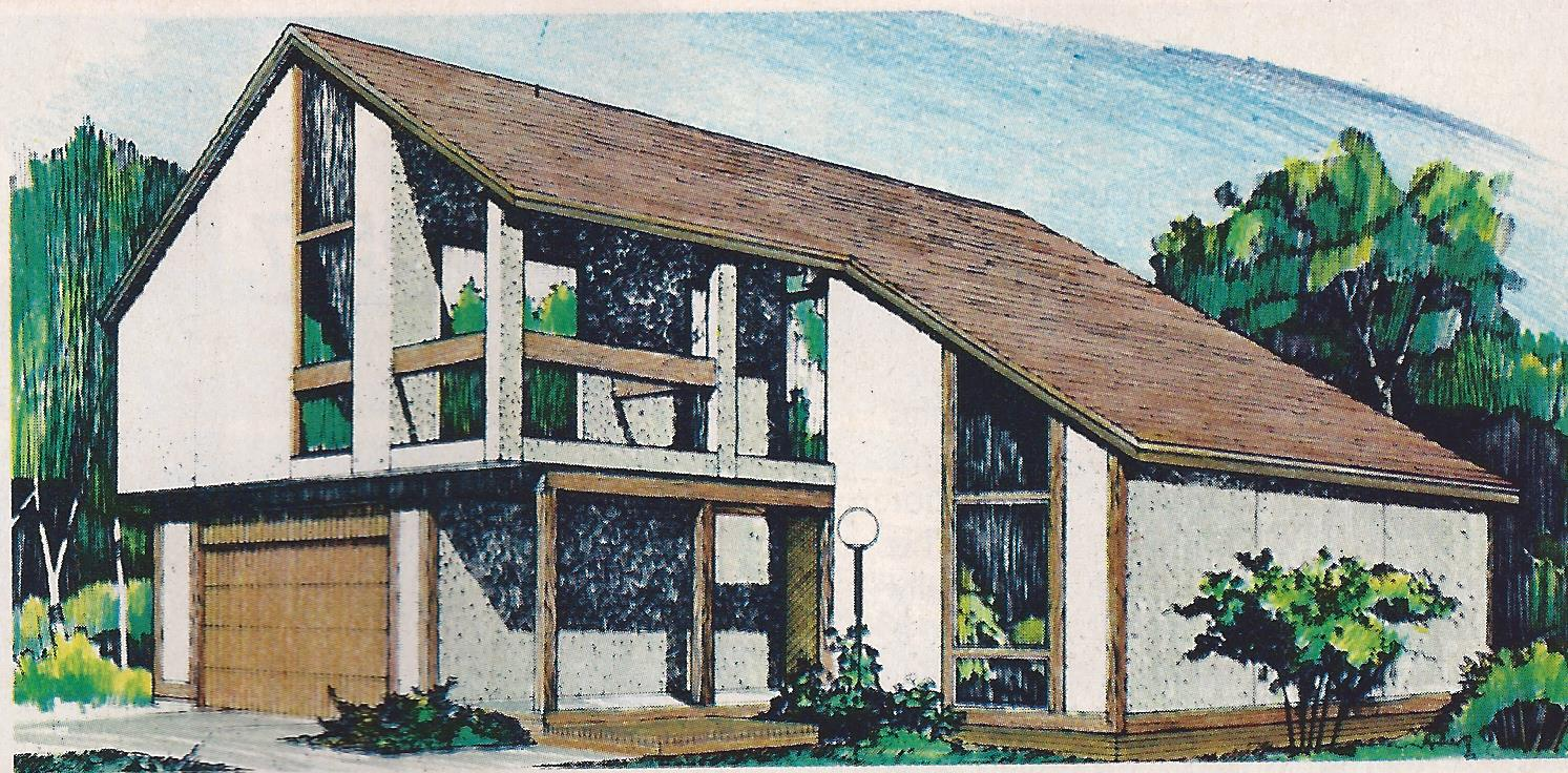 5 Pre Fab Modern Home Plan Designs From 1977 Better Homes Catalog You Are Electric