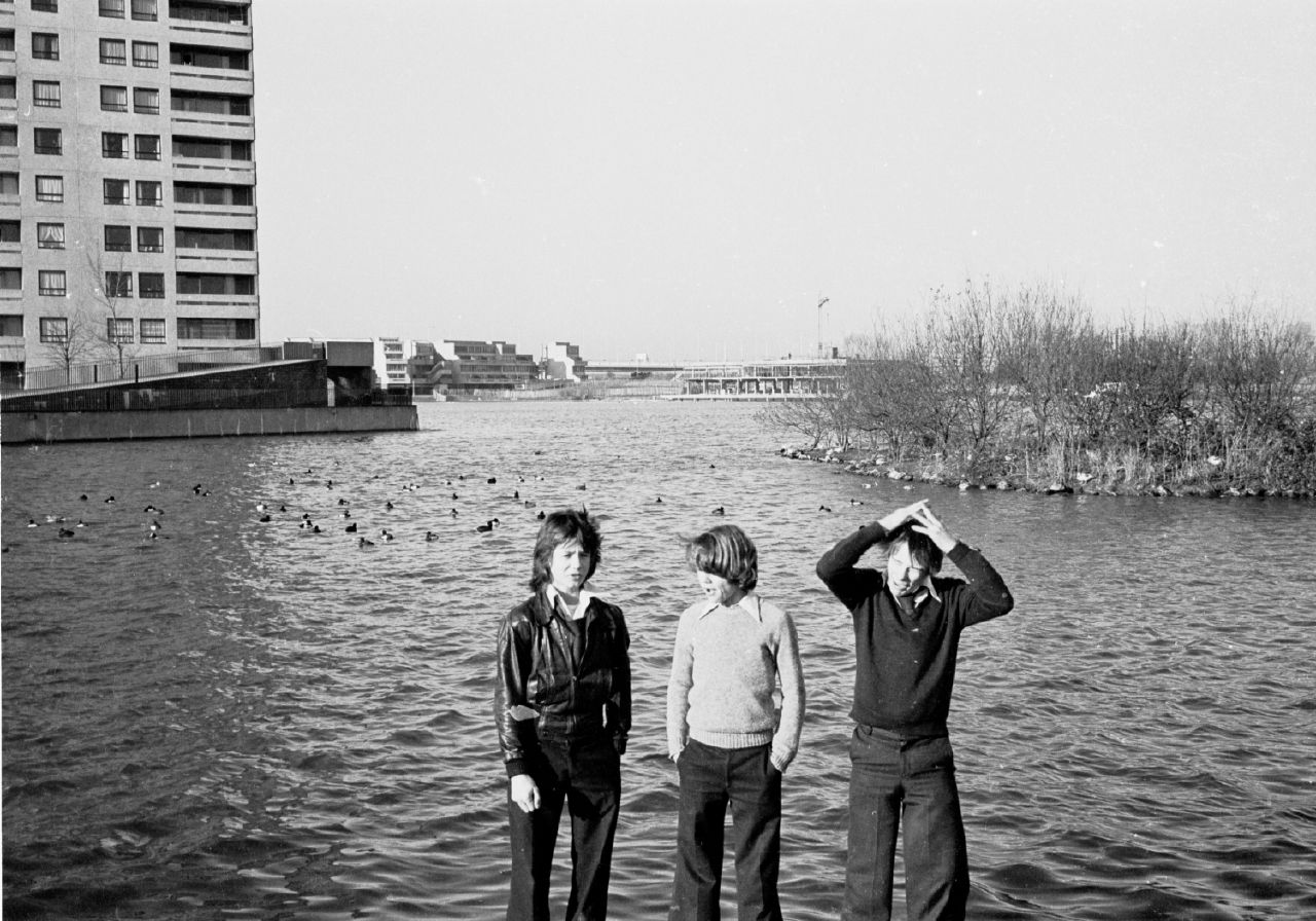 Youth in the Thamesmead development, 1977