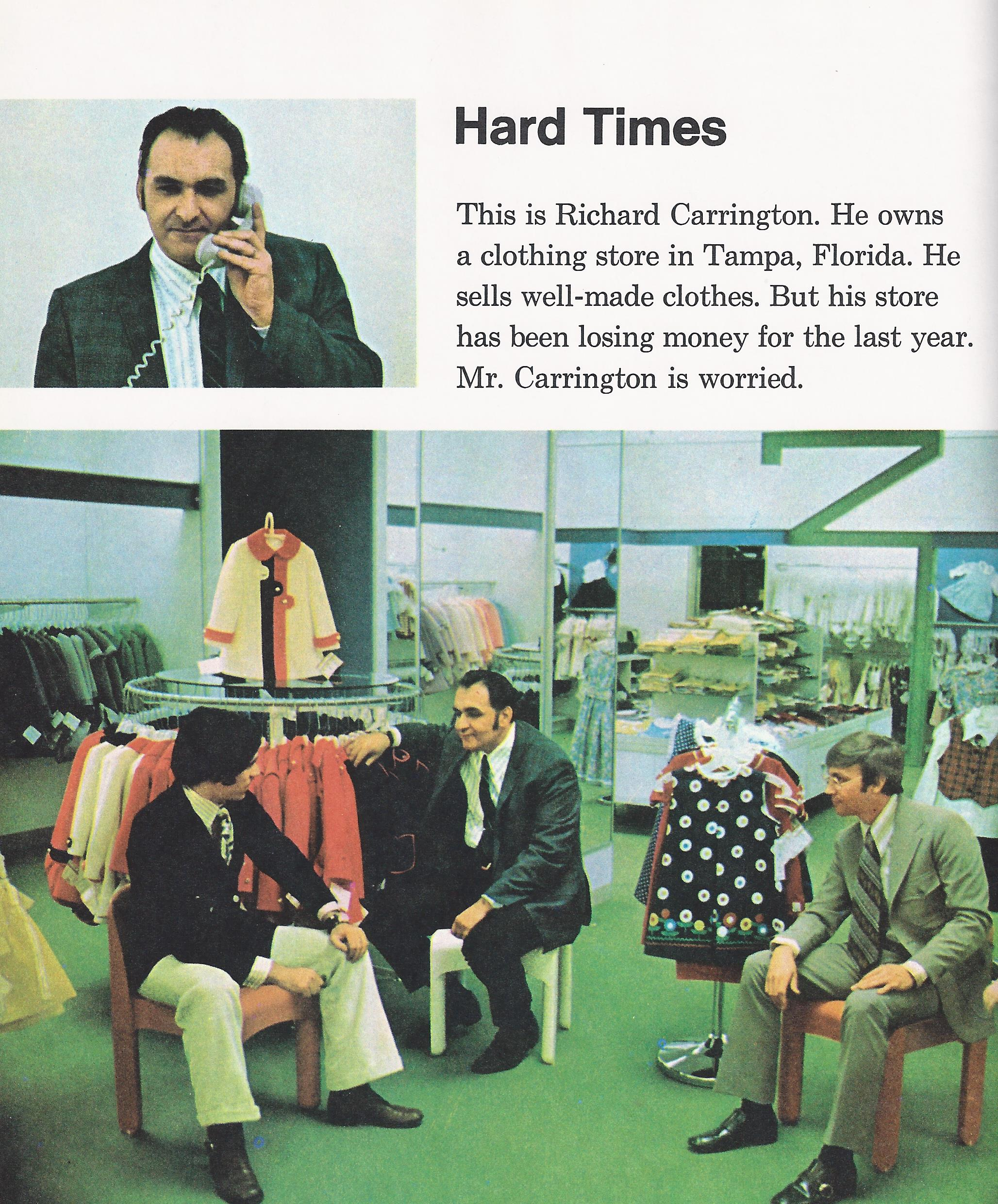 1970s clothing store closing