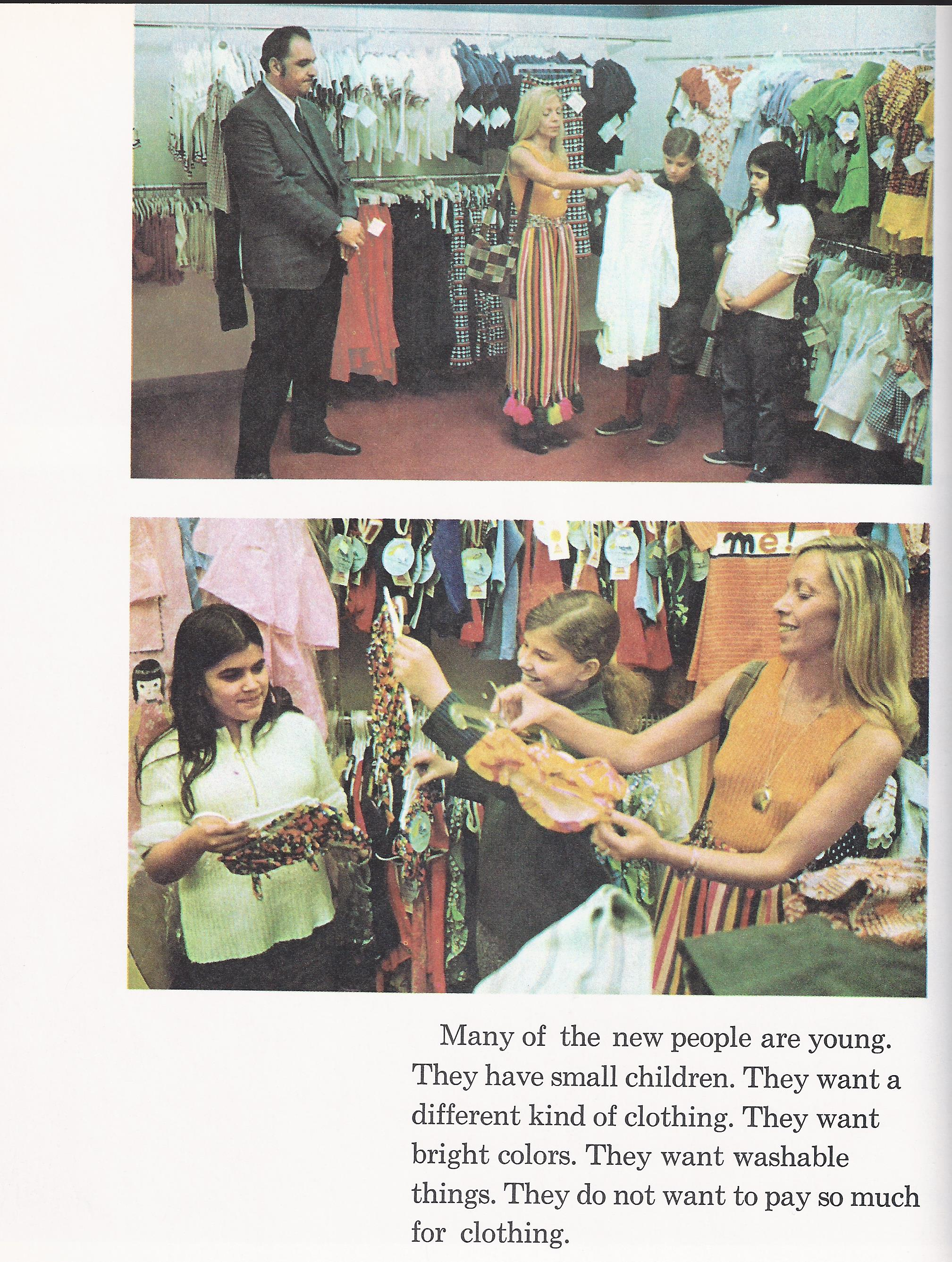 clothing store 1970s