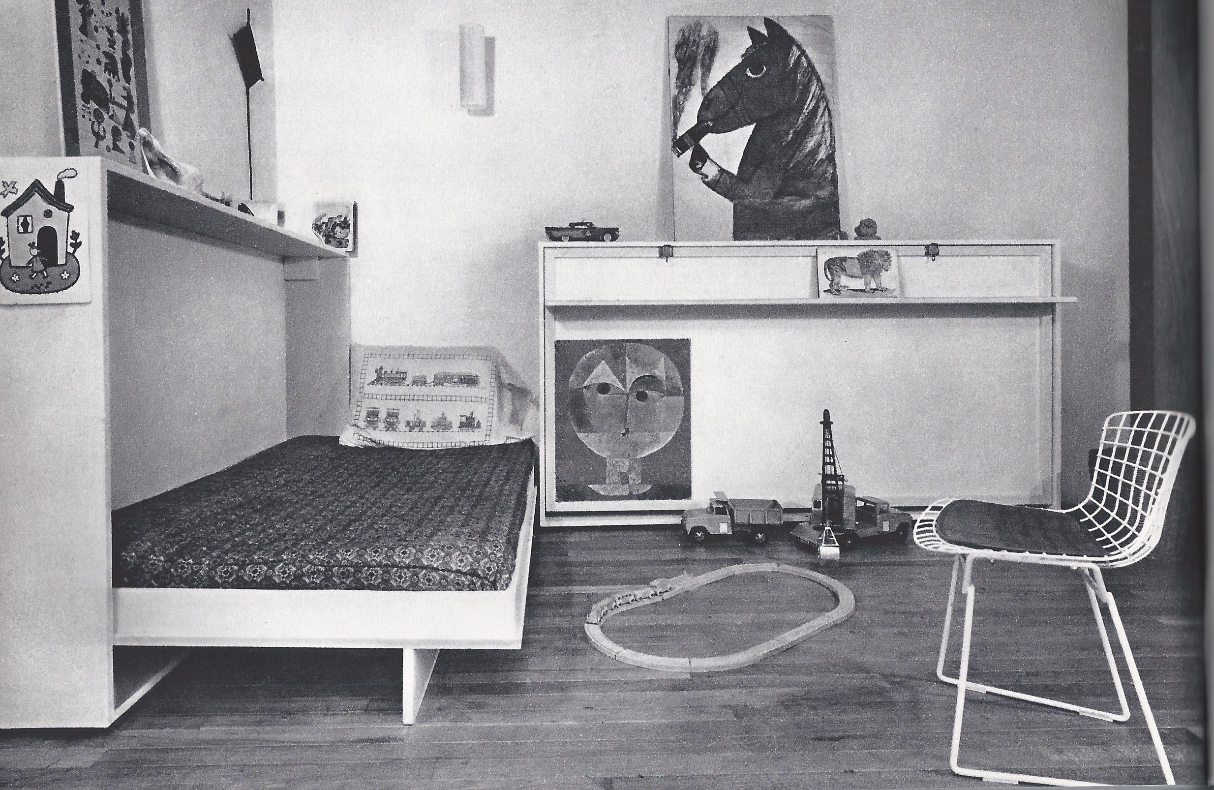 modern childs bedroom